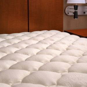 ExceptionalSheets Extra Plush Bamboo Fitted Mattress Topper - bamboo mattress