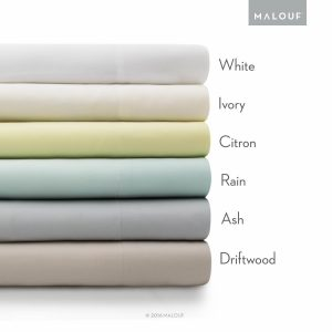 MALOUF 100% rayon from bamboo sheet set - bamboo sheets