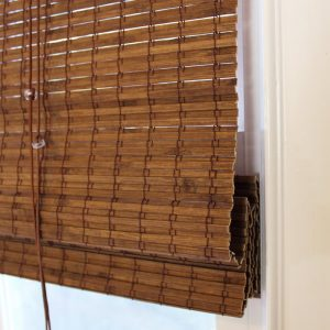Bamboo blinds and shades