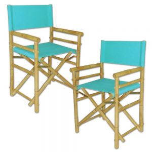 Bamboo tables and chairs