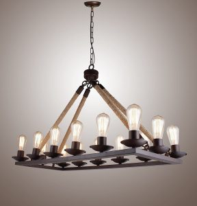 rustic chandeliers edison chandeliers a guide to the best of 2017. Black Bedroom Furniture Sets. Home Design Ideas