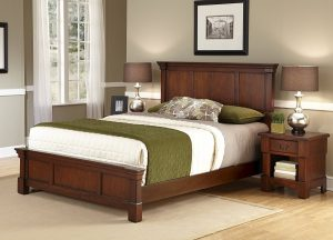 Great rd Home Styles The Aspen Collection King Bed and Night Stand