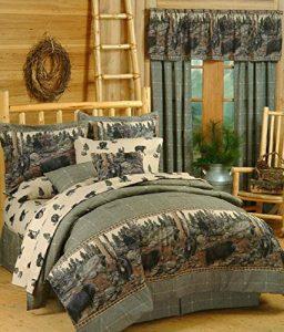 rustic comforter set