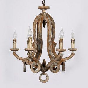 rustic wood chandeliers