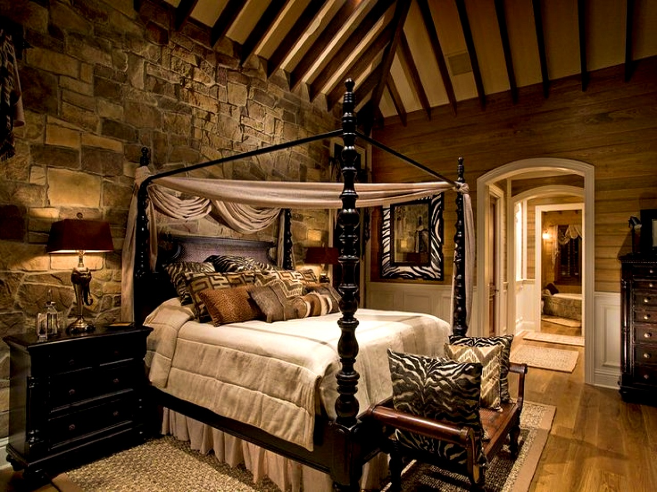 Rustic bedroom decorating ideas a guide to inspire and for Bed decoration