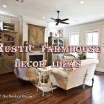 Rustic farmhouse décor