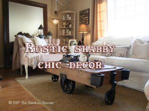 rustic shabby chic decor