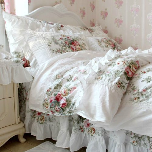 Lovely shabby chic bedding Shabby chic bedding Set