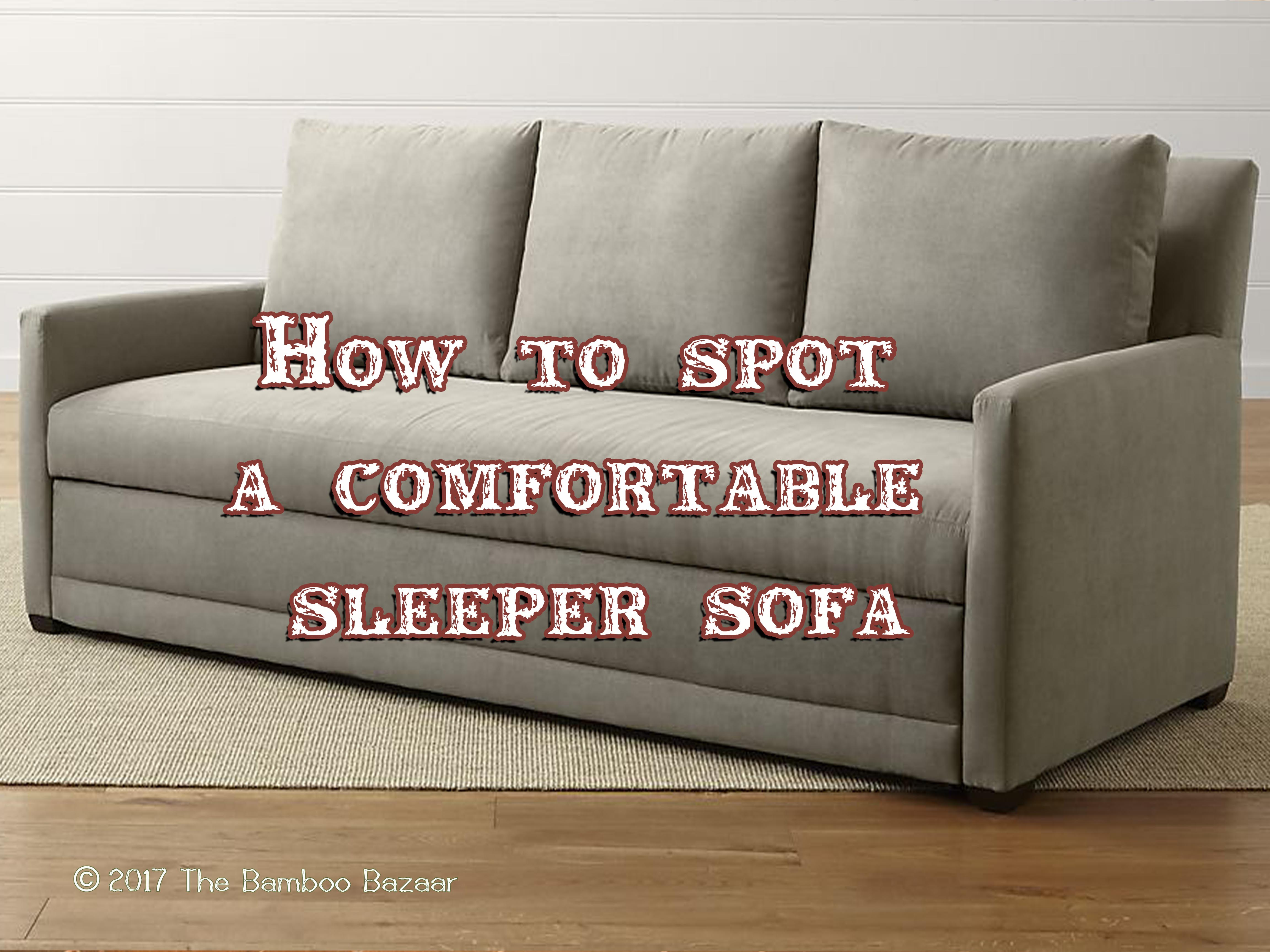 How to Spot a fortable Sleeper Sofa A Pratical Review