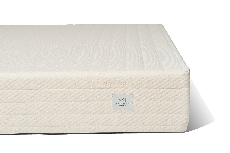 brentwood home bamboo gel 11inch memory foam mattress