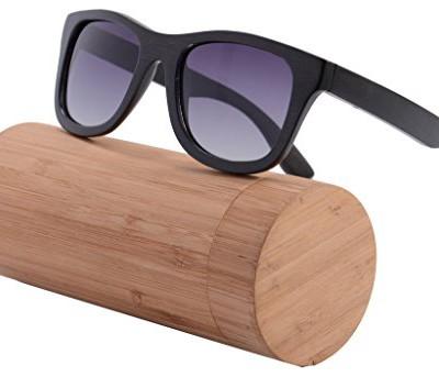 Shinu sunglasses polarized bamboo wooden wayfarers - bamboo sunglasses
