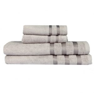Touz 4pcs bath collection - bamboo towels