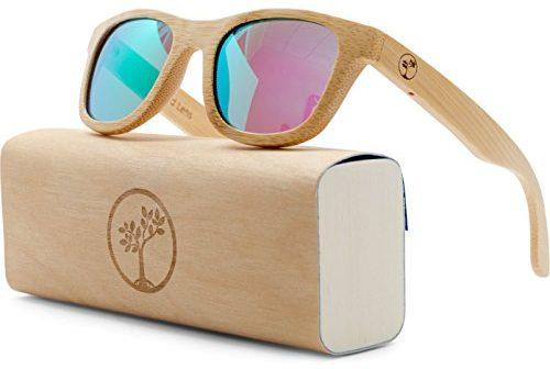 4d03e12061df Tree People polarized wayfarer bamboo sunglasses