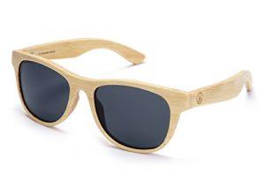 Tree Tribe Polarized Laminated Bamboo Wayfarer Sunglasses - bamboo sunglasses