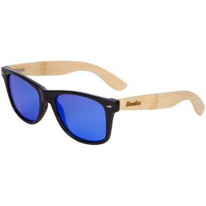 Woodies bamboo wayfarer style sunglasses - bamboo sunglasses