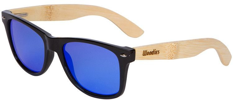 Woodies bamboo wayfarer style sunglasses - bamboo sunglasses