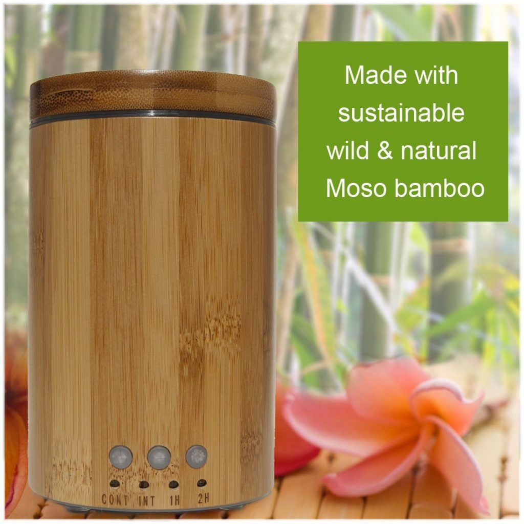 Red Silk Essentials Bamboo Diffuser