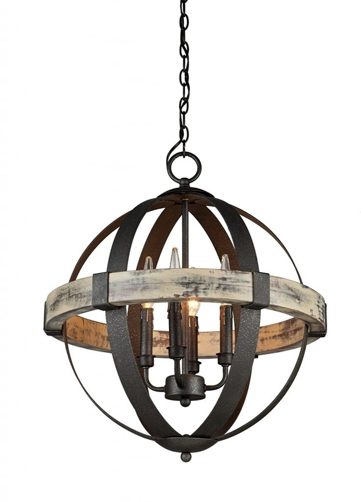 rustic wood chandeliers