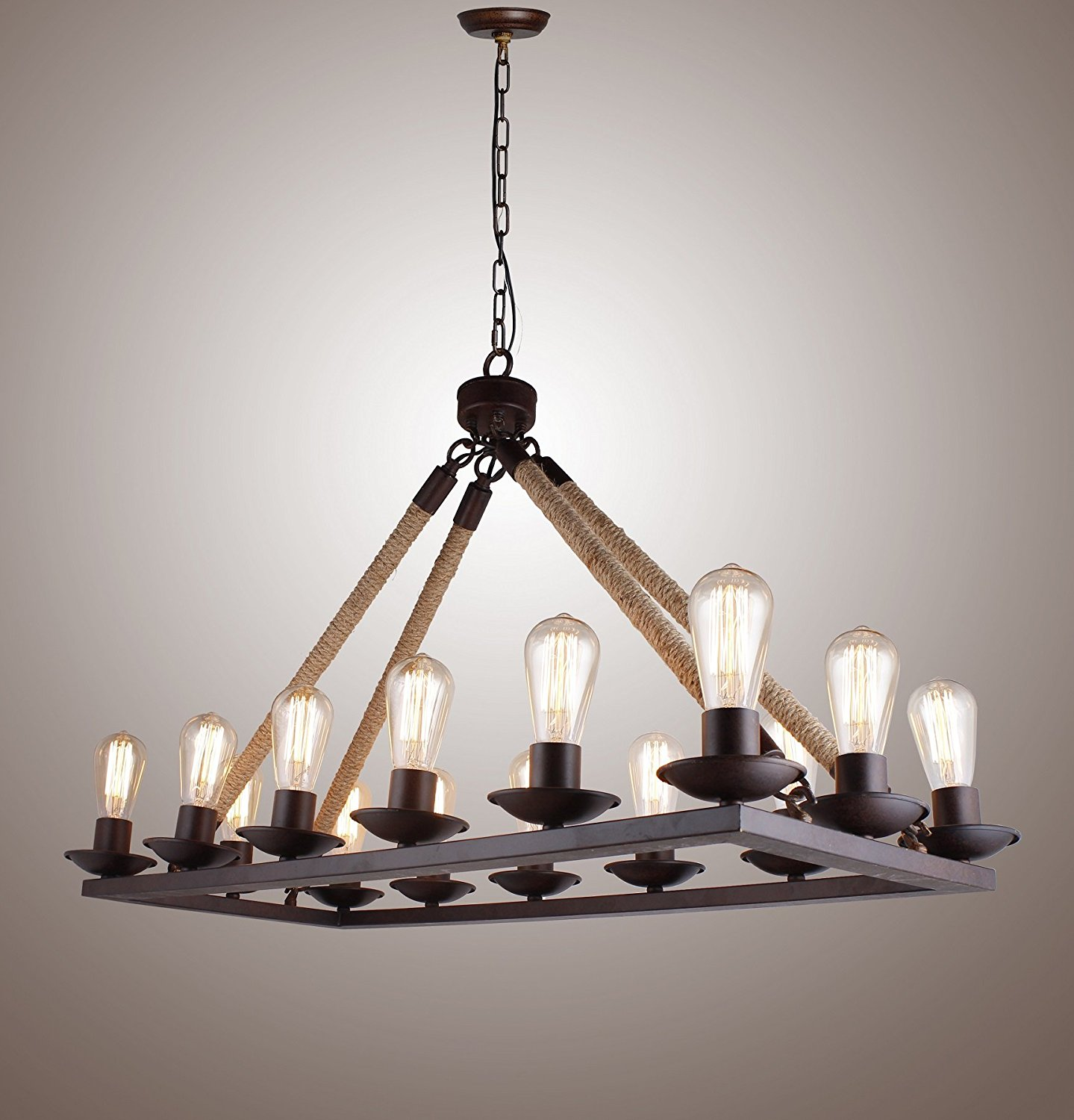 Rustic chandeliers edison chandeliers guide to the best of 2018 arubaitofo Images