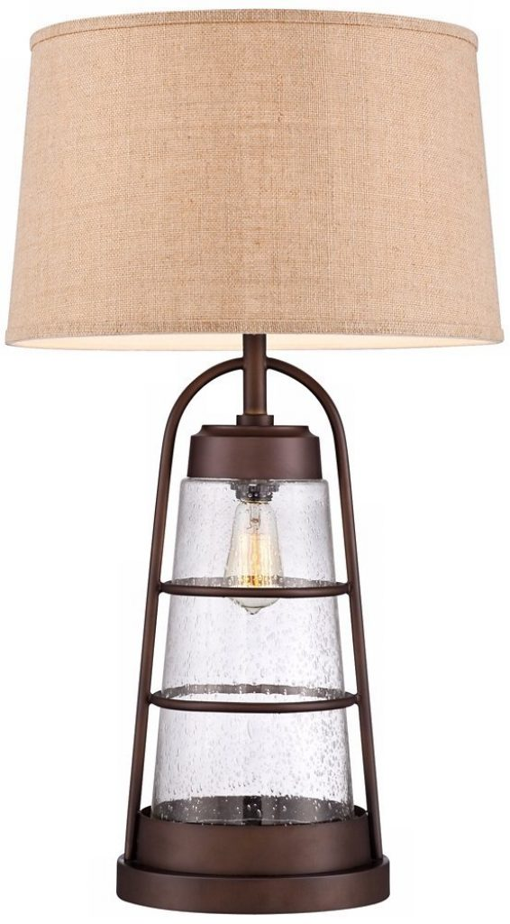 Franklin Iron Works Table Lamp