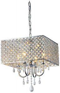 Modern crystal chandelier