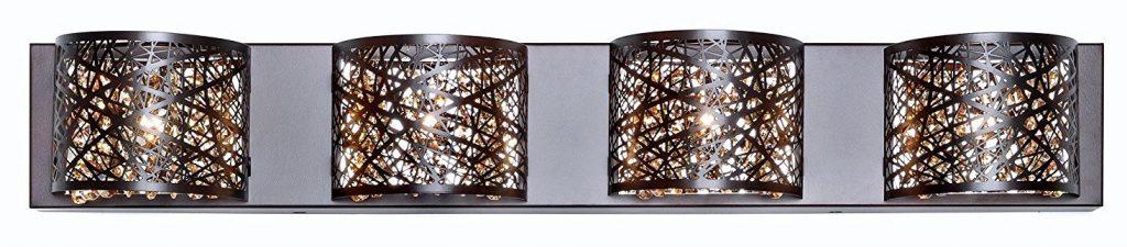 crystal bathroom lighting vanity lights a guide to the best of 2018