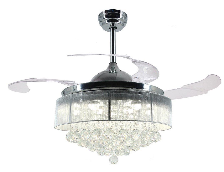crystal ceiling fans lights guide to the best of 2018. Black Bedroom Furniture Sets. Home Design Ideas