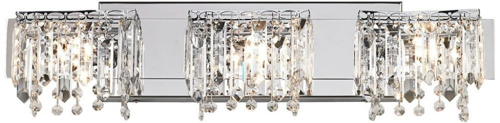 huge discount 76205 603f1 Crystal Bathroom Lighting & Vanity Lights, A Guide to the ...