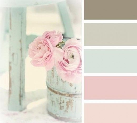 Charmant Shabby Chic Bedroom Colors