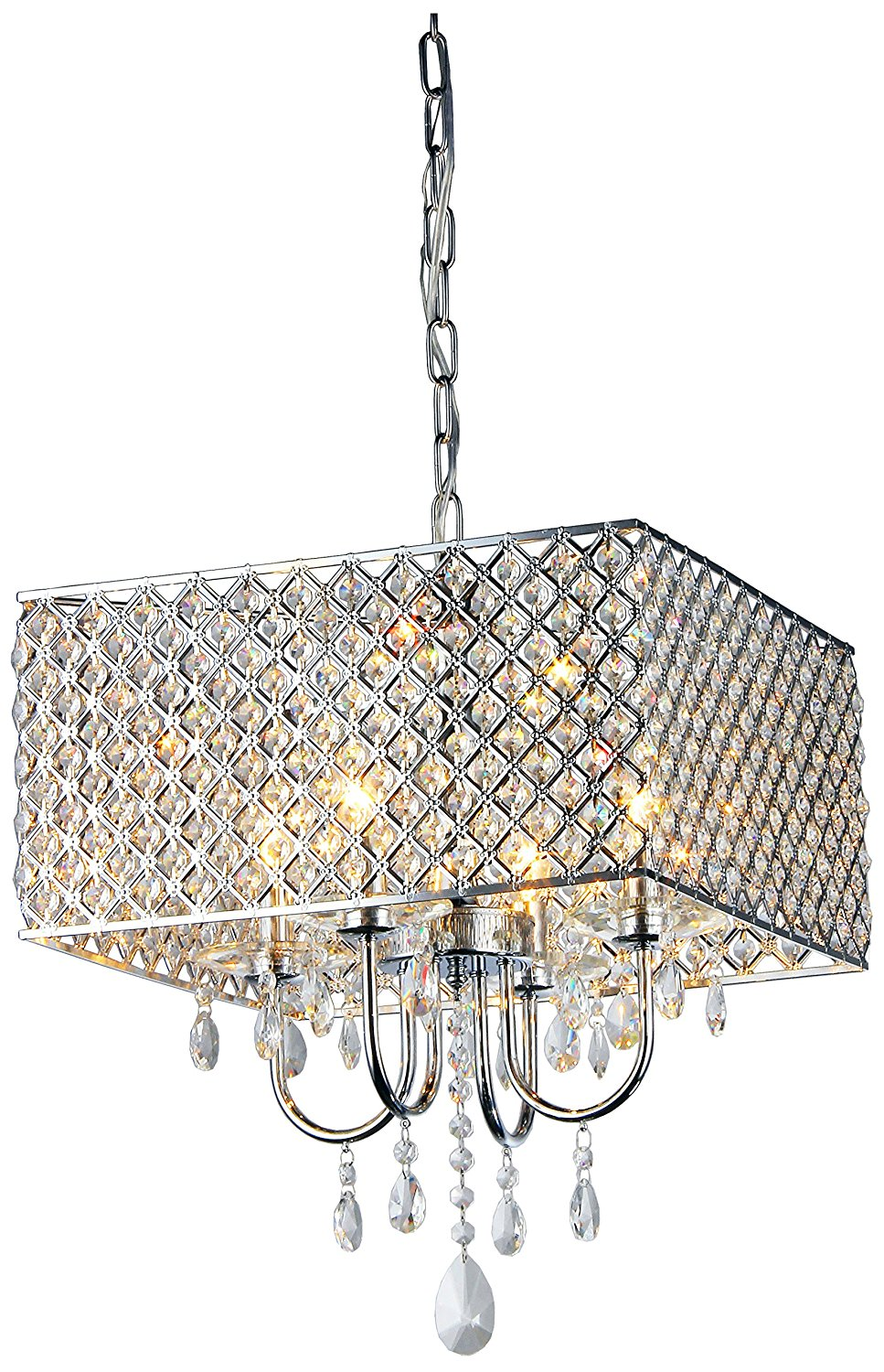 Whse of Tiffany Crystal Chandelier