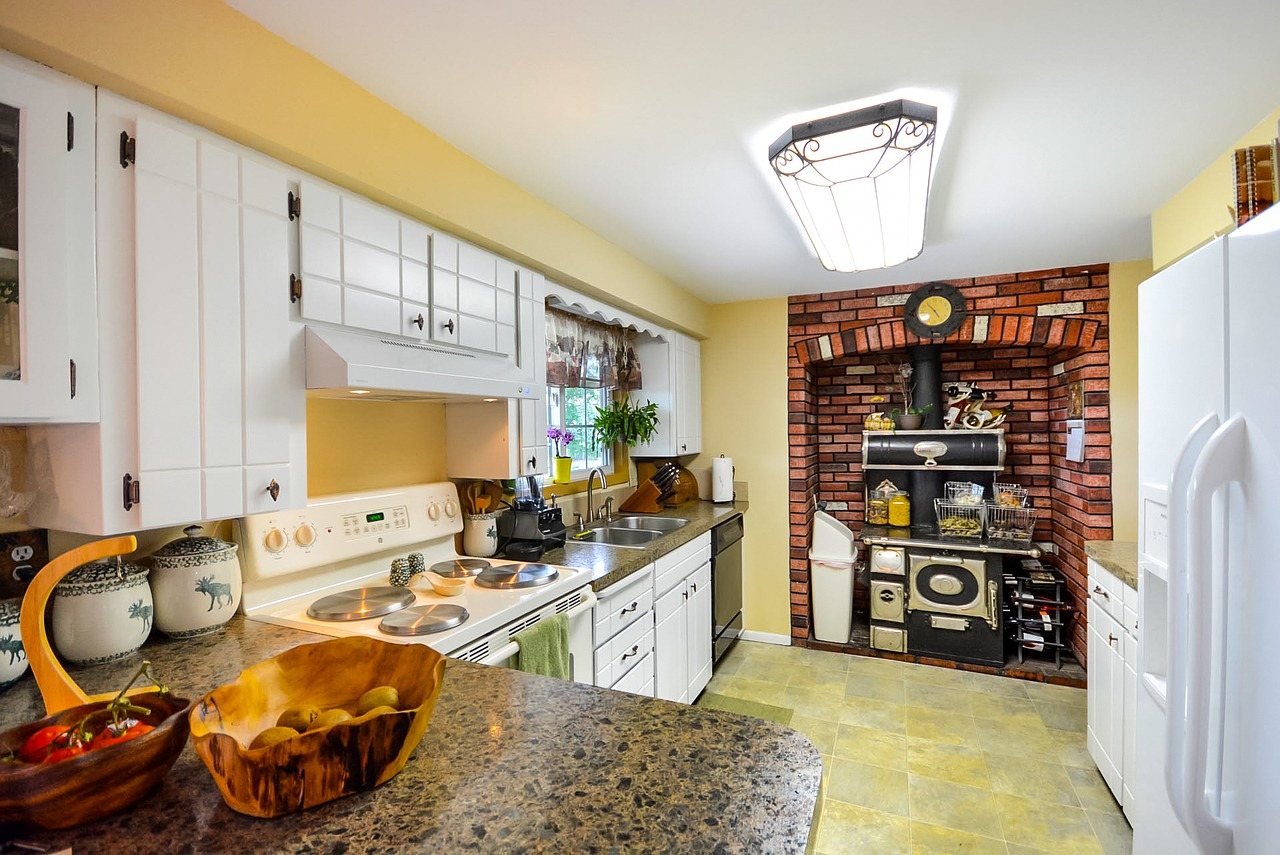 Rustic cozy kitchen