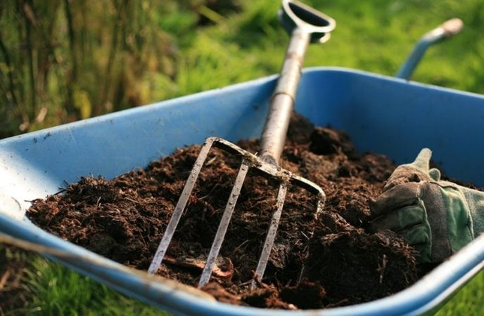 own compost