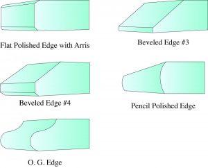 patio table glass edges
